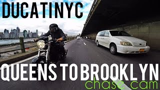 Queens to Brooklyn Chase Cam - Ducati NYC v173