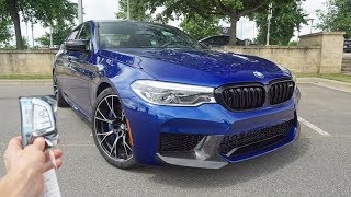 2019 BMW M5 Competition: Start Up, Exhaust, Test Drive and Review