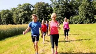 Pro-X Walker mit Heike Drechsler ohne Nordic Walking Stöcke (2)