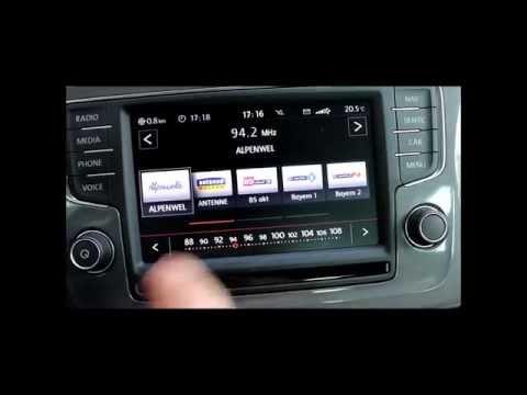 VW Polo (2014): Das Radio