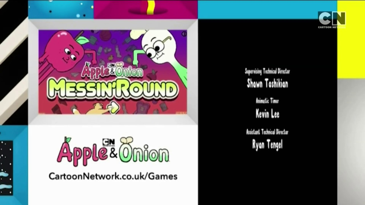 Cartoon Network UK HD Apple And Onion Messin' Round Game ECP