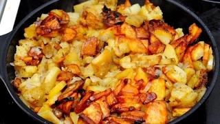 Жареная картошка готовим правильно
