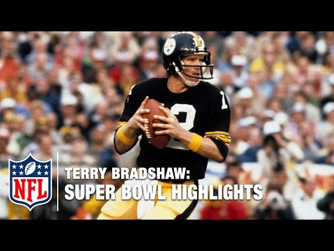 Terry Bradshaw Super Bowl Highlights | NFL