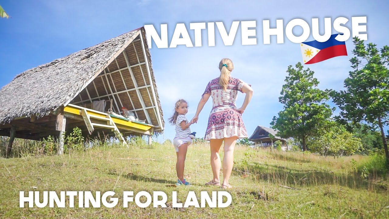 STUNNING FILIPINO Native KUBO House BUILDING A HOME IN THE PHILIPPINES EP1