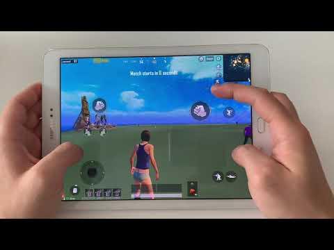 PUBG MOBILE - Samsung Galaxy Tab S2