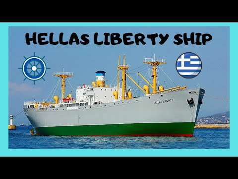 GREECE: EXPLORING the last WW2 LIBERTY SHIP, fully renovated and ready for a tour