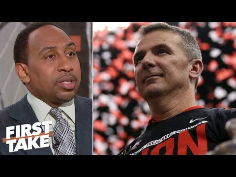 Urban Meyer is one of the greatest college football coaches ever - Stephen A.   First Take