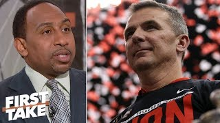 Urban Meyer is one of the greatest college football coaches ever - Stephen A. | First Take
