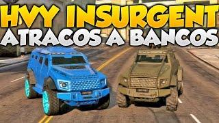 GTA V Online HVY Insurgent Edicion Blindada y Artillera Como Conseguirlo Tuneado y Test GTA 5 Online