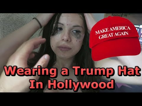WEARING A TRUMP HAT IN HOLLYWOOD Attacked On Camera
