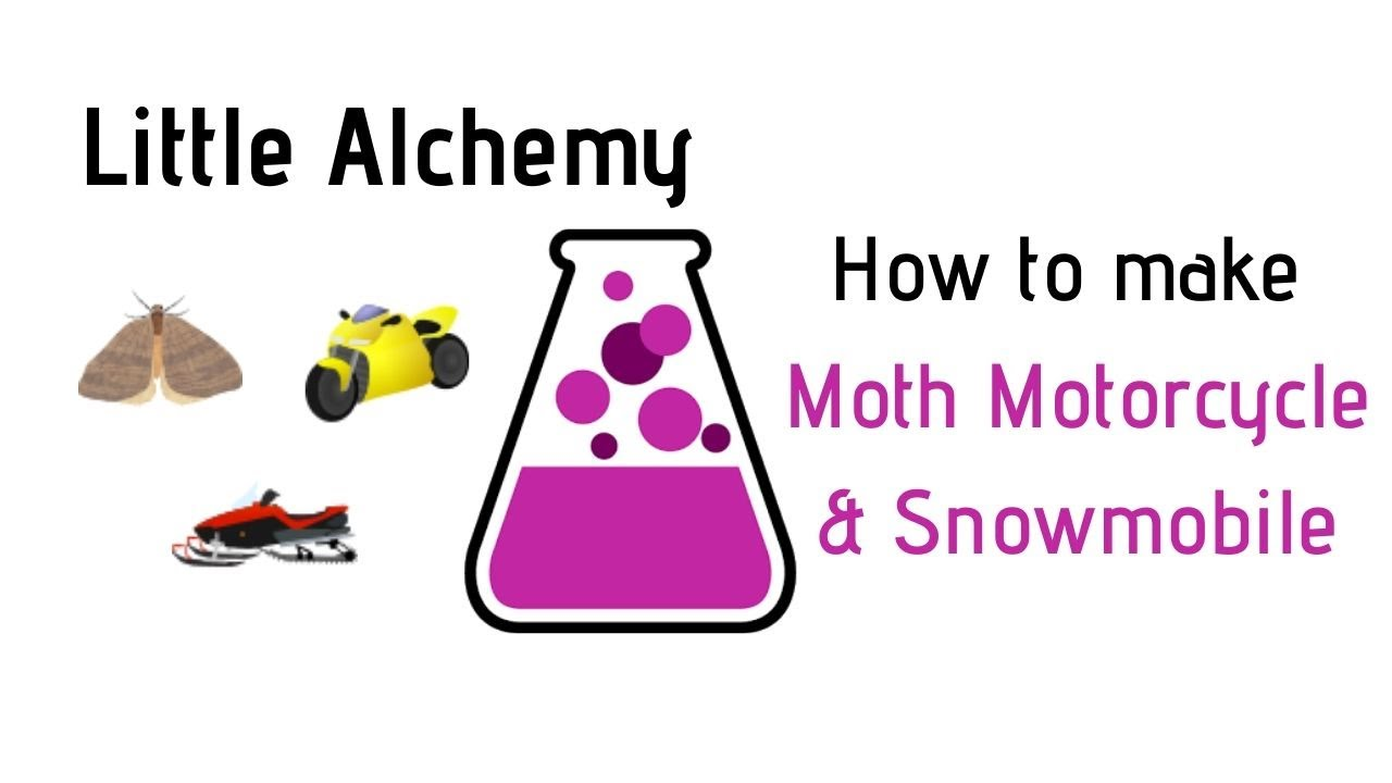Little Alchemy How To Make Moth Motorcycle Snowmobile Cheats Hints Youtube