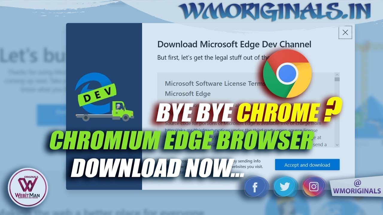 Microsoft Edge Chromium Download & Install Process | Available for Edge  Insiders 🐱💻