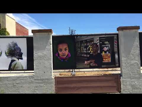 Oakland Fence I   driveby