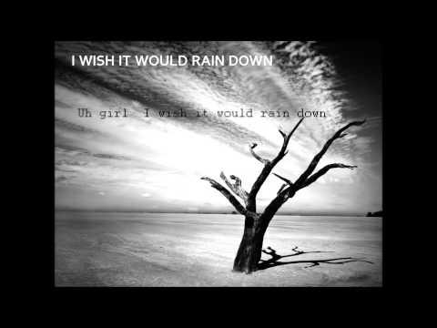 Phil Collins - I Wish It Would Rain Down | lyrics