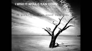 Phil Collins - I Wish It Would Rain Down | lyrics