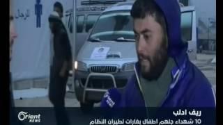 أوضاع صعبة في مخيمات النزوح نتيجة هطول الامطار في إدلب