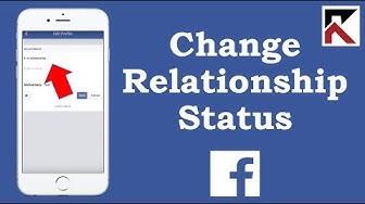 How To Change Relationship Status Facebook App