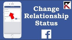 How To Change Relationship Status Facebook App
