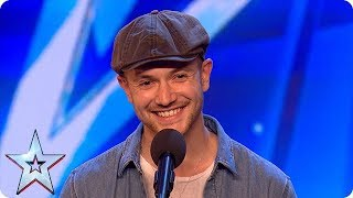 aleksandar mileusnics seductive swing version of seven nation army auditions bgt 2018