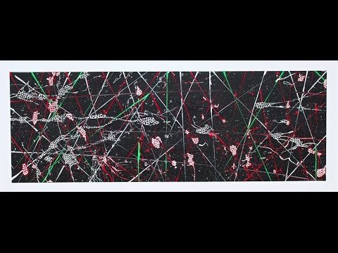 "Abstract Painting Art Demo - ""Insanis Carbo"" Embrace The Matrix @embracematrix"
