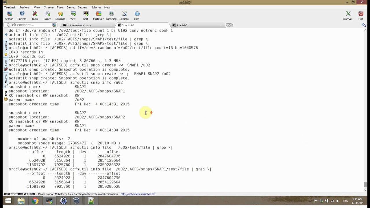 oracle database 12c | DBA survival BLOG