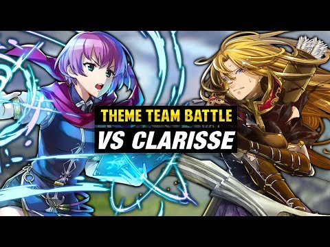INFERNAL Clarisse GHB Vs. Katarina & New Mystery of the Emblem Units - Fire Emblem Heroes Theme Team