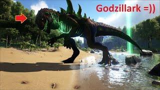 ARK: Survival Evolved Online #13 - Đi bắt quái thú Godzillark khổng lồ =))