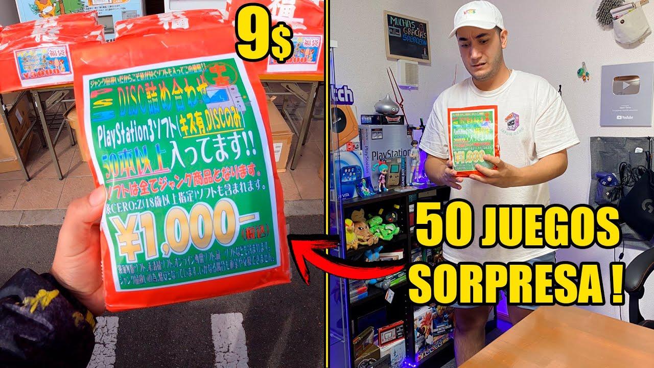 Compre una BOLSA SORPRESA de PLAYSTATION 3 en JAPON !  Videojuegos