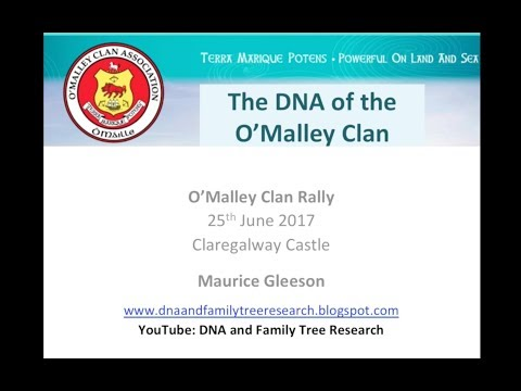 O'Malley Clan DNA Project