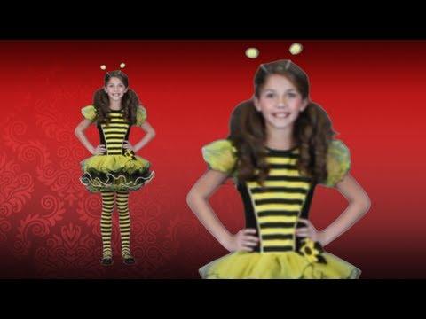 Girls Buzzy Bee Costume Idea