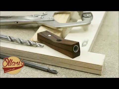 Making a simple pocket hole jig
