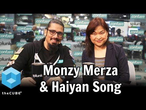 Monzy Merza & Haiyan Song, Splunk | Splunk .conf 2017