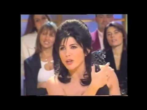 Liane Foly fait ses imitations dans l'émission CELEBRITES présentée par Alexandra Bronkers