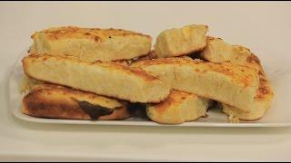 فطائر بالبشاميل والجبنة الرومي   نجلاء الشرشابي