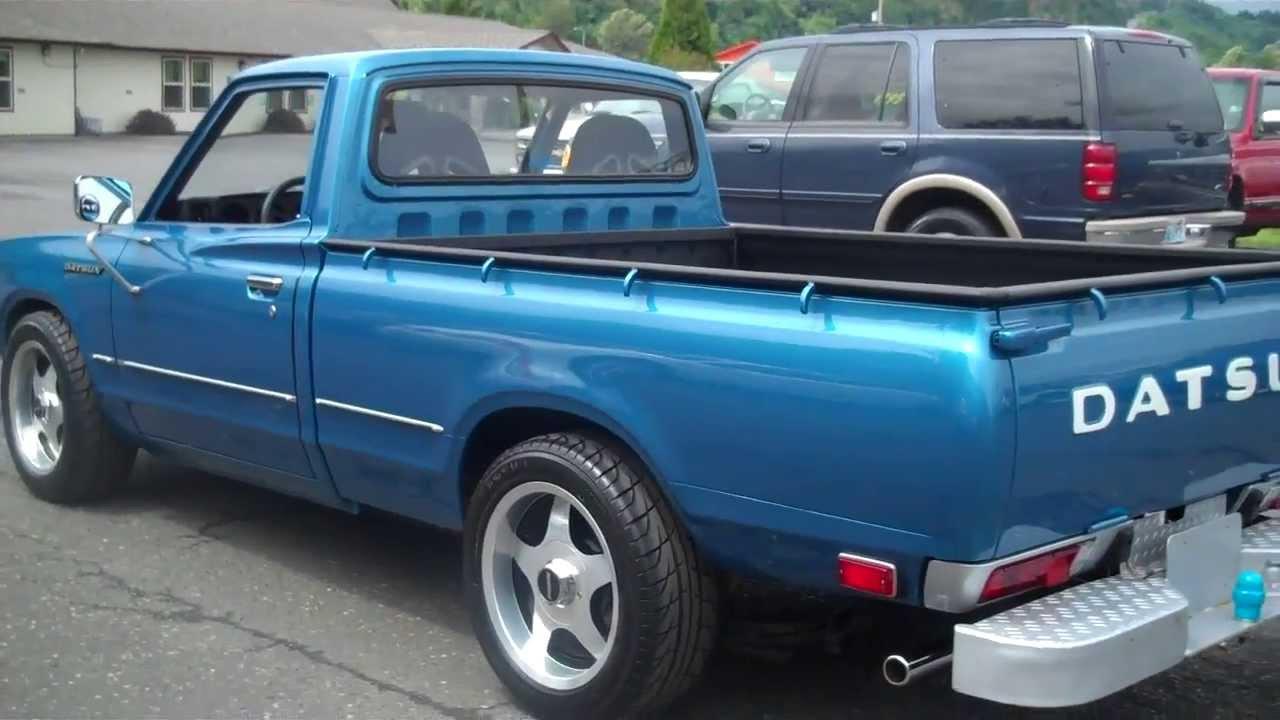 Nissan datsun 510 truck - Nissan Datsun 510 Truck 50