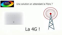 La solution en attendant la fibre ? La 4G ! (Huawei B715)