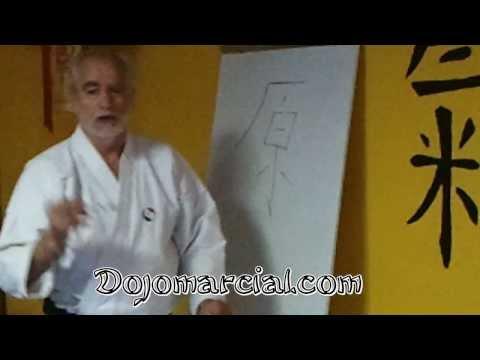 Kata Sanchin - Yin Yang y Octograma de Fu Shi - Mtro. Andrés Congregado 8º Dan Karate