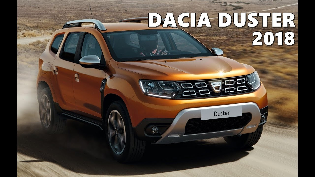 new 2018 dacia duster official youtube. Black Bedroom Furniture Sets. Home Design Ideas
