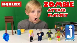 ROBLOX ZOMBIE ATTACK PLAYSET FROM JAZWARES TOYS