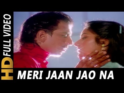 Meri Jaan Jao Na | Amit Kumar, Sadhana Sargam | Jawani Zindabad 1990 Songs | Javed Jaffrey