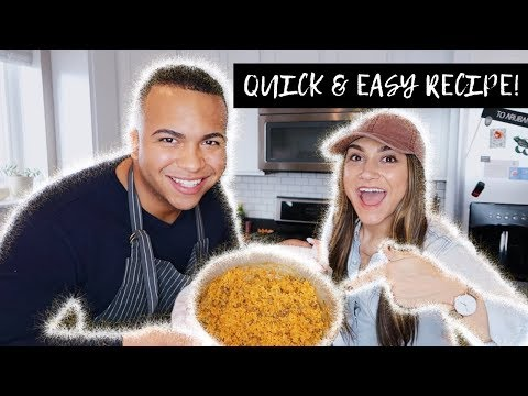 Puerto Rican Rice And Beans || Arroz Con Gandules