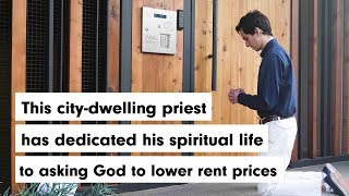 WEIRD: This Priest is asking God to lower rent prices.
