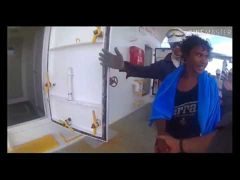 Indonesian Boy18, 49 Days In The Sea Rescued