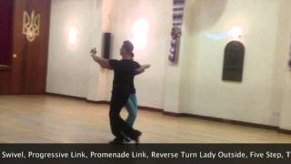 Intermediate Tango routine by Inspiration 2 Dance