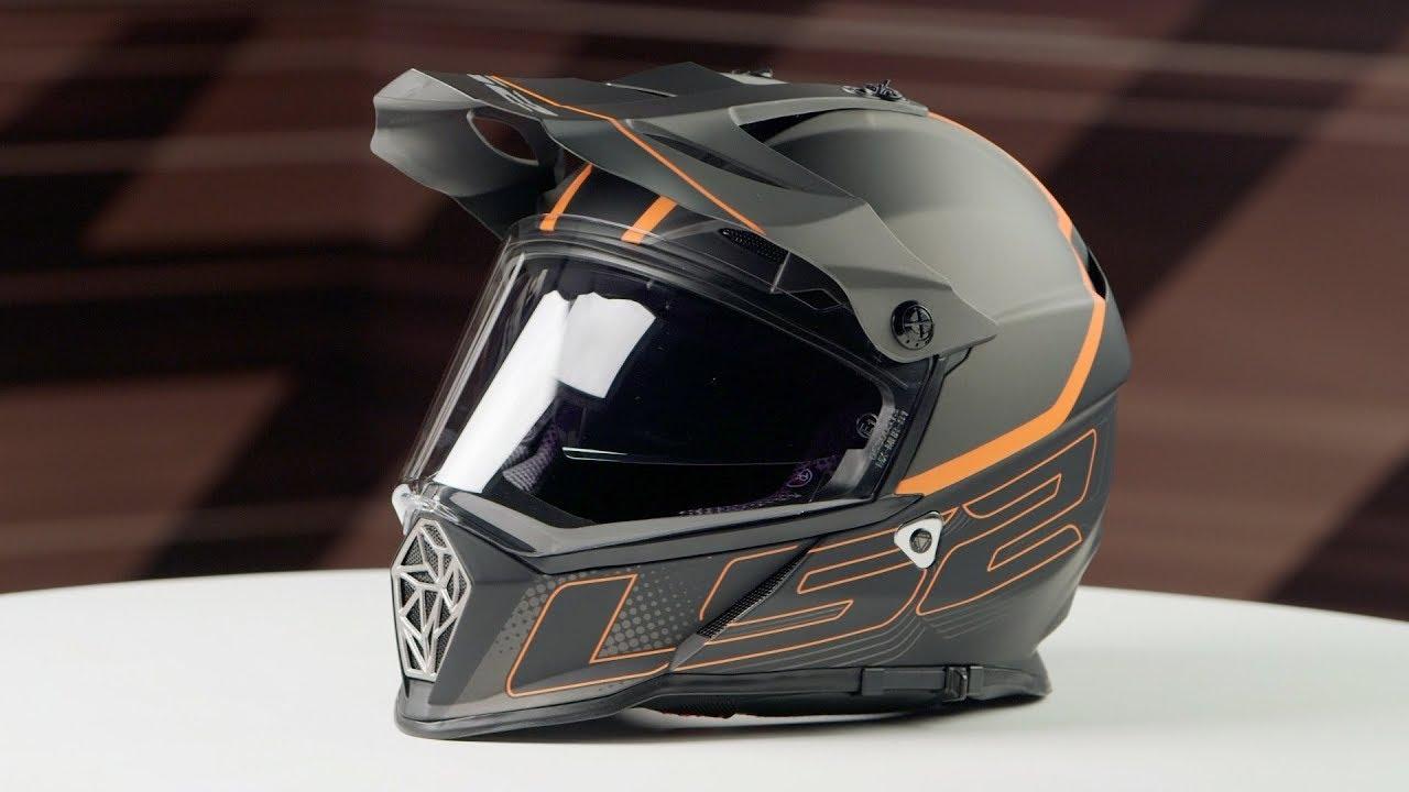 matt black Titanium XL LS2/Helm Motorrad MX436/Pioneer Element