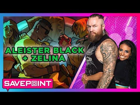 ZELINA VEGA & ALEISTER BLACK Team Up In Streets Of Rage 4: Savepoint