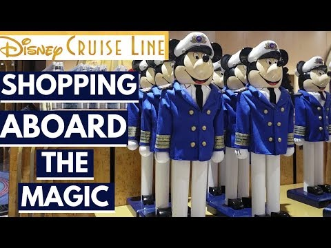 Disney Cruise Line Shopping at All Stores | Disney Magic 201