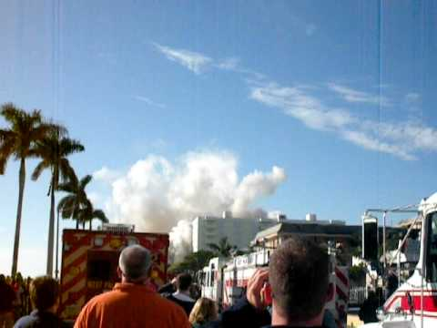 1515 Downtown West Palm Beach Building Implosion