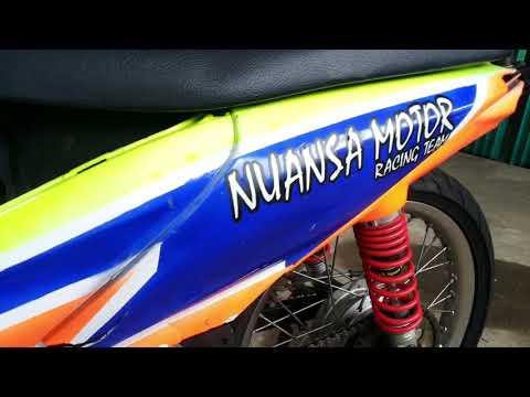 Cara Modifikasi Motor Balap Honda Revo