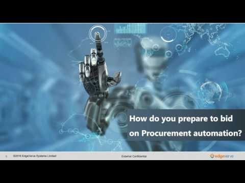 Next Gen Automation of Procurement